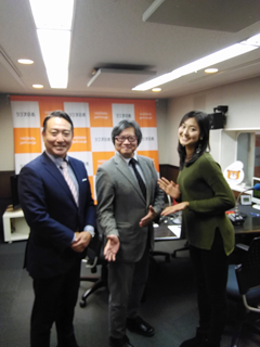 ラジオ日本へ出演!
