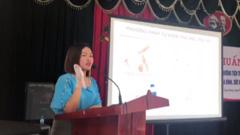 【ベトナム】避妊に関する勉強会にてブレストケアグラブが紹介されました