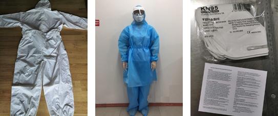 ICSTはコロナ感染対応防護服・医療用KN95マスク他防護用医療品の調達ルートを確立いたしました!